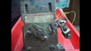 Honeywell servo motor test run video