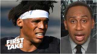 Stephen A. thinks the Patriots are Cam Newton's last chance to be a starting QB | First Take