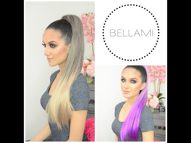 Bellami Extensions Clip Ponytail All About Lilly Hair Clip In
