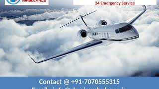 Charming Air Ambulance Service in Delhi and Ranchi by Sky Ambulance
