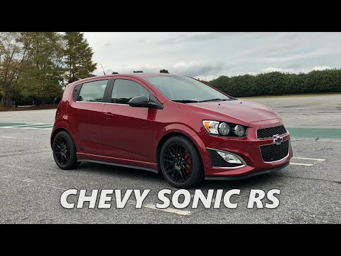 MODDED CHEVY SONIC RS REVIEW!! EXHAUST, INTAKE, & WHEELS!!