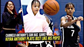 Carmelo Anthony's Son Kiyan Anthony Plays JUST LIKE HIM! 2021 AAU Debut!
