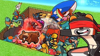 1v1 Pixelmon LUCKY DIP Challenge! (Minecraft Pokemon)