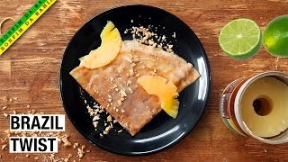 Brazilian Twist on French Crepe Suzette | Pancake Day by Alex French Guy Cooking