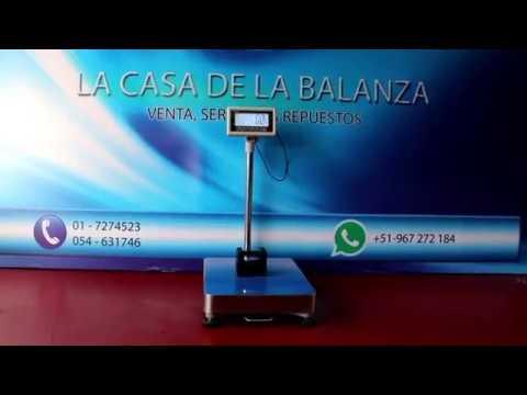 Balanza electrónica de plataforma T-Scale