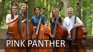 PINK PANTHER Theme | double bass quintet | Božo Paradžik & students