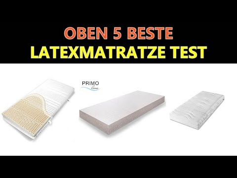 Beste Latexmatratze Test 2018