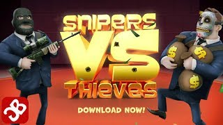 Snipers vs Thieves (iOS, Android) Gameplay Walkthrough Part 1