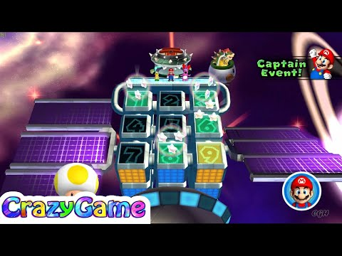 Mario Party 9 Bowser Station Party 19 Player Master Difficult