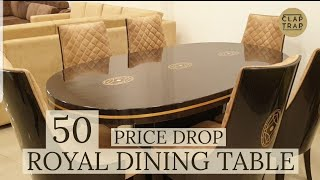 ROYAL DINING TABLE & CHAIR SETS | AS GOOD AS IMPORTED