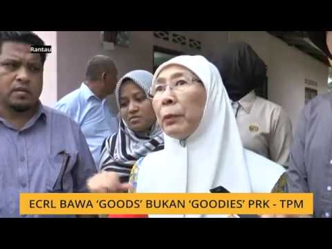 ECRL bawa 'goods' bukan 'goodies' PRK - TPM