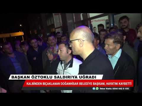 Kalbinden bıçaklanan Doğanhisar Belediye Başkanı hayatını kaybetti