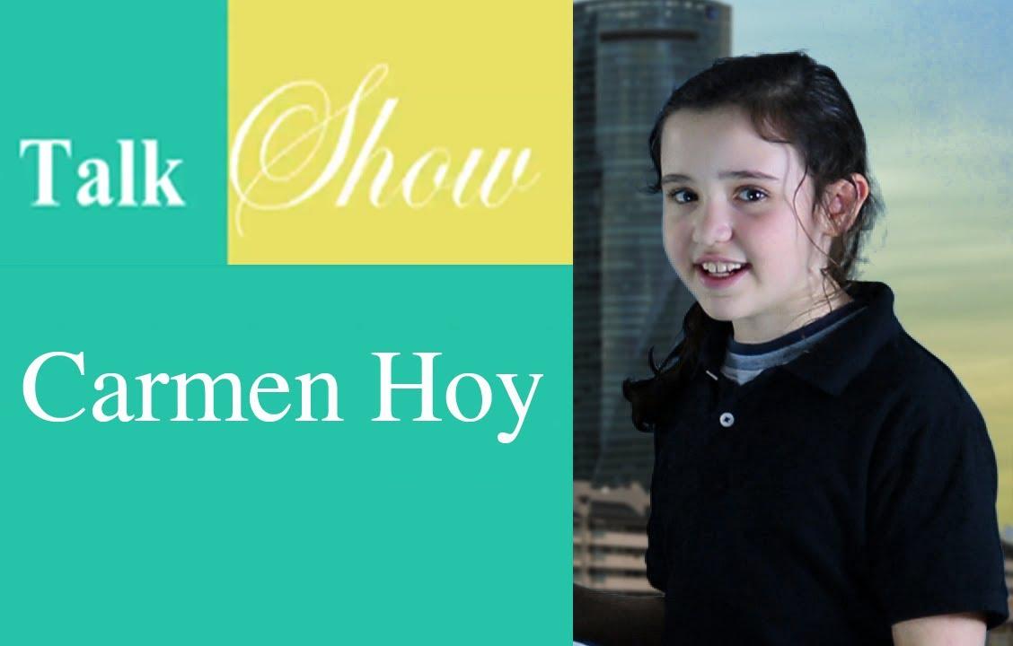 Talk Show Carmen Hoy