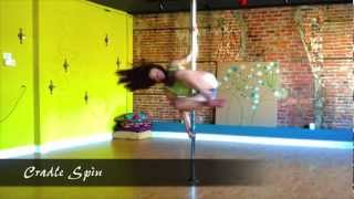 preview picture of video 'Beginner Pole Dance Spins ~ Pole Dance Classes in Morristown NJ'