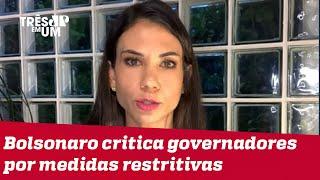 Amanda Klein: Discurso de Bolsonaro não ecoa em grande parte da sociedade