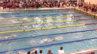 Ealing Swimming Club, Women's 6x50 Relay, Basildon, 12/10/13