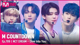 [NCT DREAM - Dive Into You] Comeback Stage   #엠카운트다운   Mnet 210513 방송