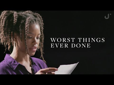 Reading The Worst Things People Have Ever Done