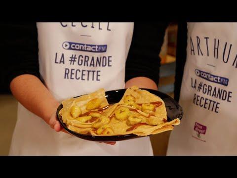 LA GRANDE RECETTE - CONTACT FM - CREPES