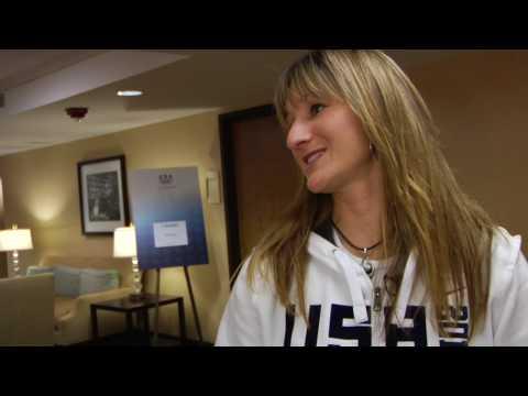 2010 Winter Olympics: Jennifer Rodriguez - Speed Skater