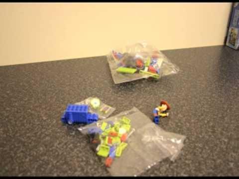 Vidéo LEGO Toy Story 7590 : La course en voiture de Buzz et Woody