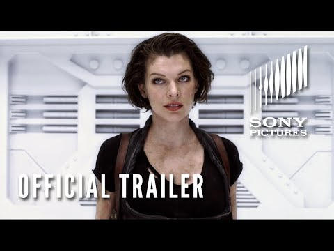 Official Resident Evil: Afterlife Trailer in HD