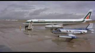 JFK International Airport 1972 & Alitalia DC - 8