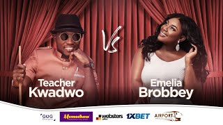 "EMELIA BROBBEY tells Teacher Kwadwo about her ""VOICE"" in new music.😂"