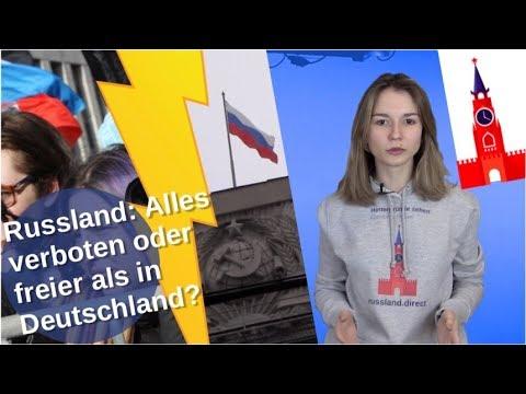 Russland: Alles verboten oder freier als Deutschland? [Video]