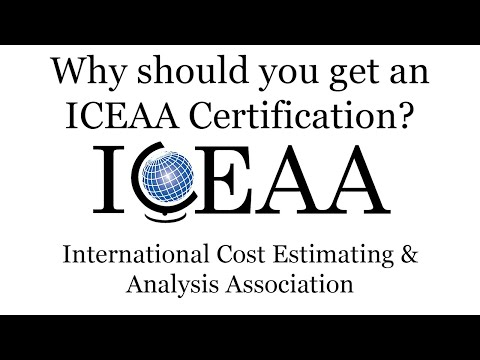 Why Should You Get an ICEAA Certification? - YouTube