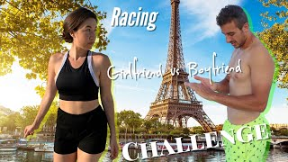 Girlfriend vs Boyfriend: Racing Challenge in Paris