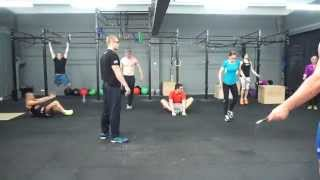 preview picture of video 'Jeden z treningów w CrossFit Zielona Góra -- FTC'