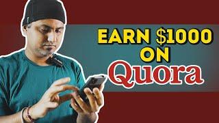 Earn Money Online on Quora App | Make Money Online with Quora | Earn Money with Questions & Answers