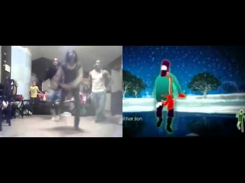 Just Dance 2 - Rasputin (side by side)