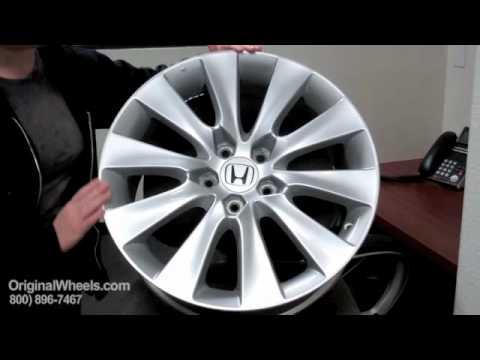 Crosstour Rims & Crosstour Wheels - Video of Honda Factory, Original, OEM, stock new & used rim Co.