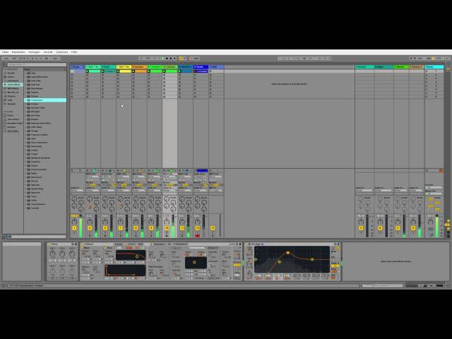Sonntagsjam Part 2 Techno (Ableton Live 2016)