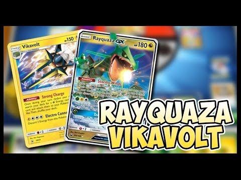 Rayquaza GX / Vikavolt – Pokemon TCG Online Gameplay