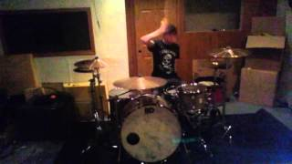 Disciple Shot Heard Round The World drum cover(head phones recommend)
