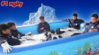 Người Cuối Cùng Rời Khỏi Hồ Bơi Băng Đá Sẽ Thắng 10 Triệu