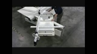SCM TI 7 L'invincibile Electronic Spindle Moulder - Самые лучшие видео