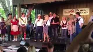 Dolly Parton at Dolly's family reunion - Dollywood - 5-12-2