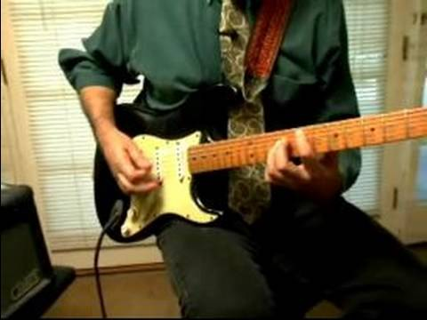 Beginning Piano & Guitar Lessons : How to Palm Mute a Guitar