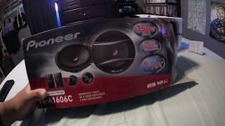 Installing Pioneer TS-A1606C speaker on my Corolla XRS (05-06)