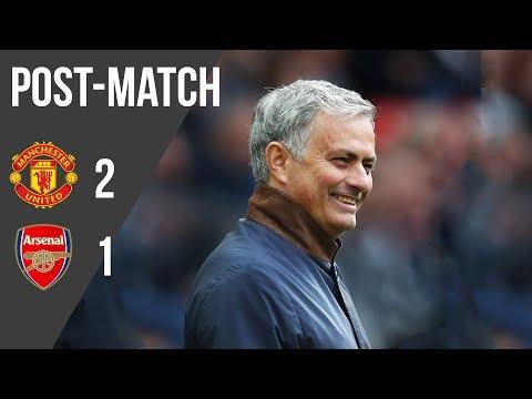 "Jose Mourinho: ""We Got the Goal We Deserved"" | Press Conference | Manchester United 2-1 Arsenal"