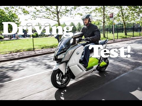 Bmw C Evolution test