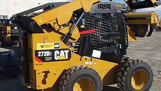 CAT 272D2 XHP equipped with Forestry Cab Guarding – Heavy Equipment Armor