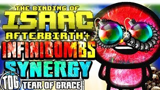 INFINITE BOMBS SYNERGY (Haemolacria + Dr Fetus + Parasite) | The Binding of Isaac: AFTERBIRTH PLUS
