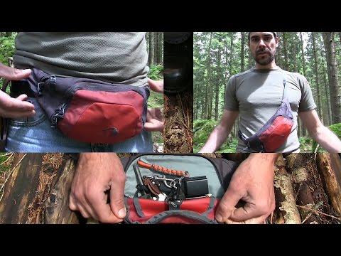 Praktische Hüfttasche / Bauchtasche | Outdoor AusrüstungTV