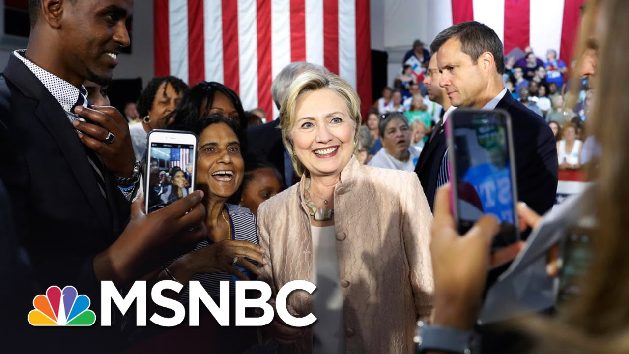 Hillary Clinton Tests Electoral Map With Utah Office   Rachel Maddow   MSNBC thumbnail