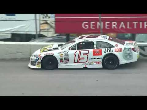 ARCA Racing Series 2018. Toledo Speedway. Christian Eckes Crash